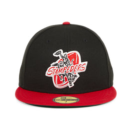 New Era 59Fifty Calgary Stampeders 1945 Hat - 2T Black, Red