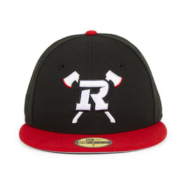 New Era 59Fifty Ottawa Redblacks Hat - Black, Red
