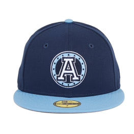 New Era 59Fifty Toronto Argonauts Hat - Navy, Light Blue