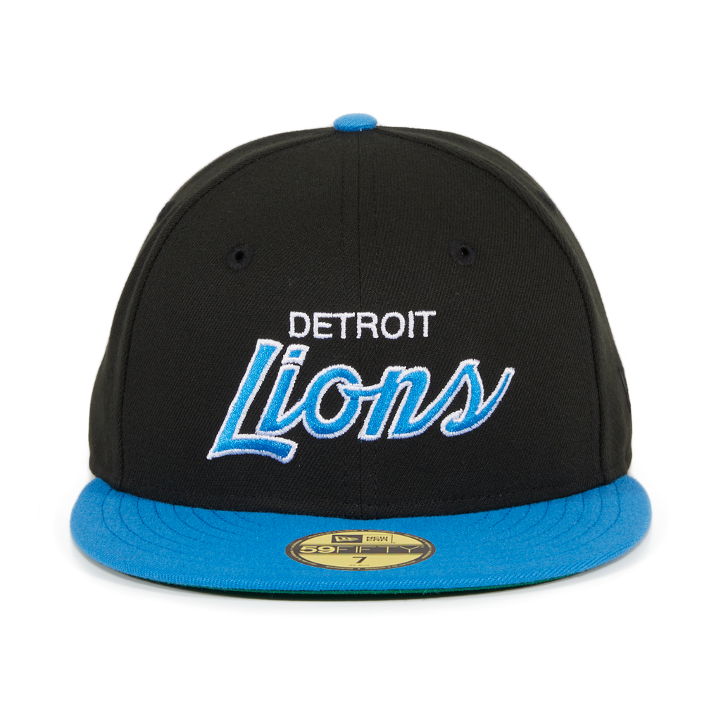 lower price with where to buy aliexpress Exclusive New Era 59Fifty Detroit Lions Script Hat - 2T Black ...