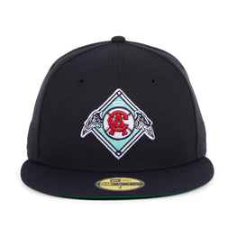 Exclusive New Era 59Fifty Los Angeles Angels 1965 Logo Hat - Navy