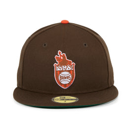 Exclusive New Era 59Fifty St. Louis Browns 1936 Logo Hat - Brown