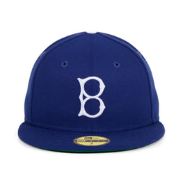 Exclusive New Era 59Fifty Brooklyn Dodgers 1932 Game Hat - Royal,