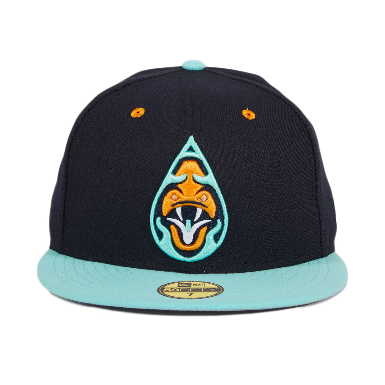 Exclusive New Era 59Fifty Yacumamas De Asheville Hat- 2T Navy,Mint