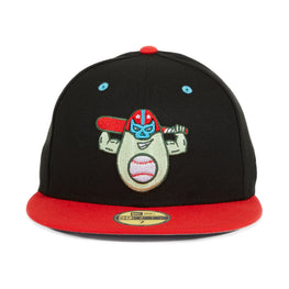 Exclusive New Era 59Fifty Down East Avocados Hat - 2T Black, Red
