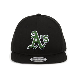 Exclusive New Era 9Fifty Oakland Athletics Hat - Black, Green, White