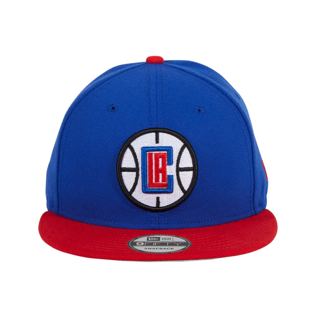 New Era 9Fifty NBA Basic Los Angeles Clippers Alternate Snapback Hat - 2T Royal, Red