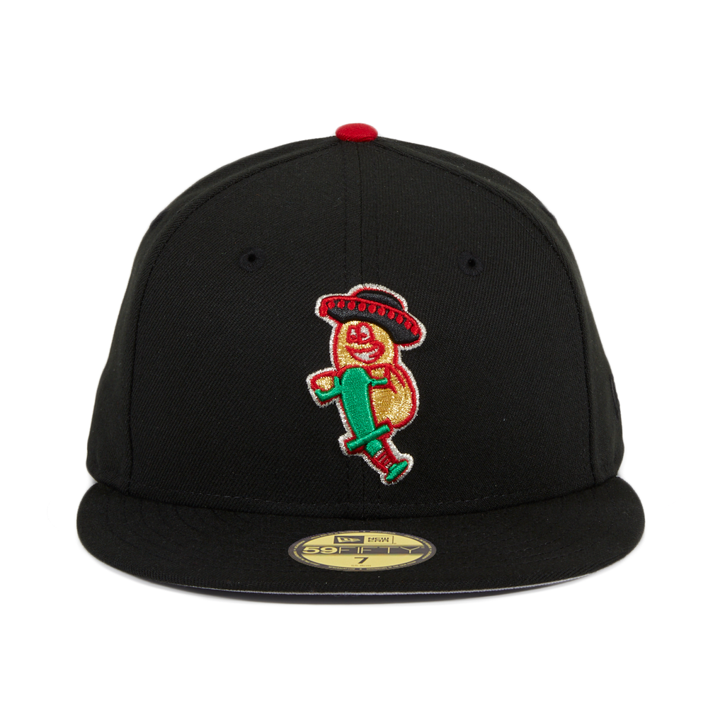 Exclusive New Era 59Fifty Charlotte Frijoles Saltarines Hat - Black