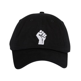 KB Fist Adjustable Hat - Black