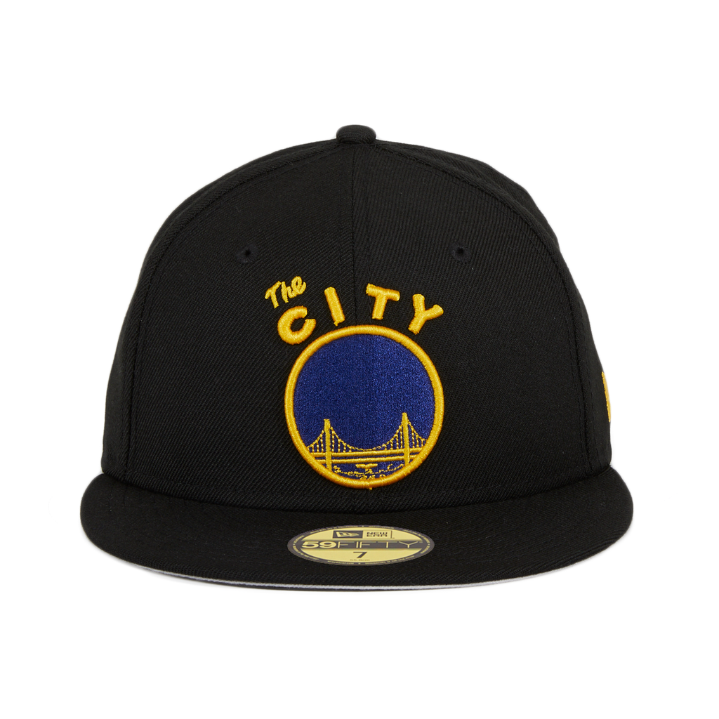 New Era 59Fifty Golden State Warriors The City OTC Hat - Black