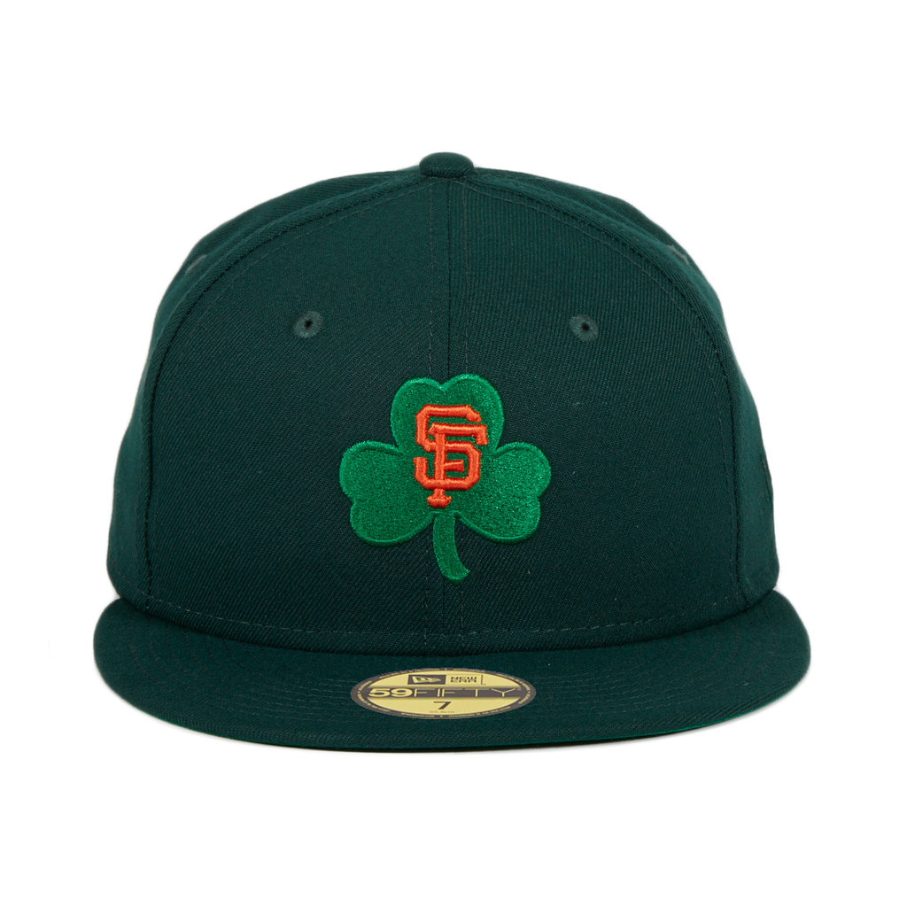 Exclusive New Era 59Fifty San Francisco Giants Shamrock Hat - Green