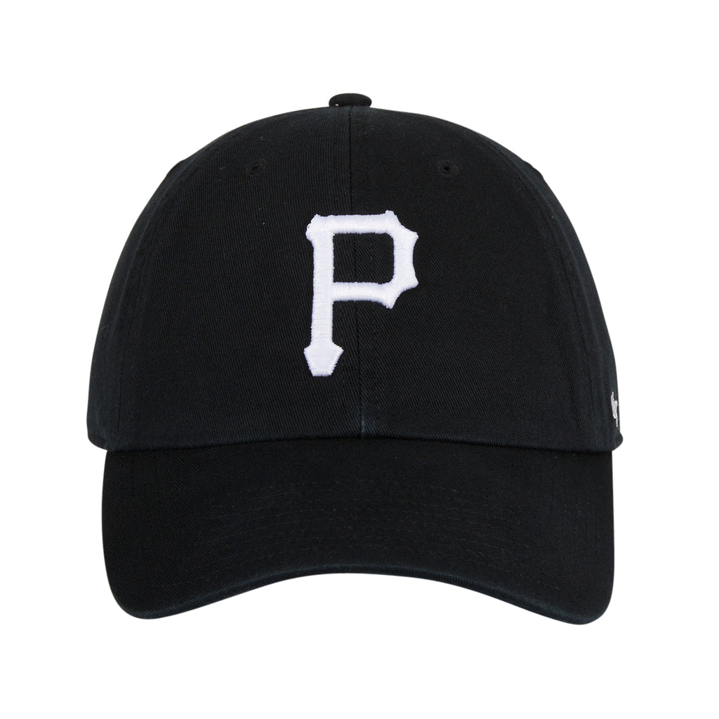 47 Clean Up Pittsburgh Pirates Adjustable Hat - Black, White