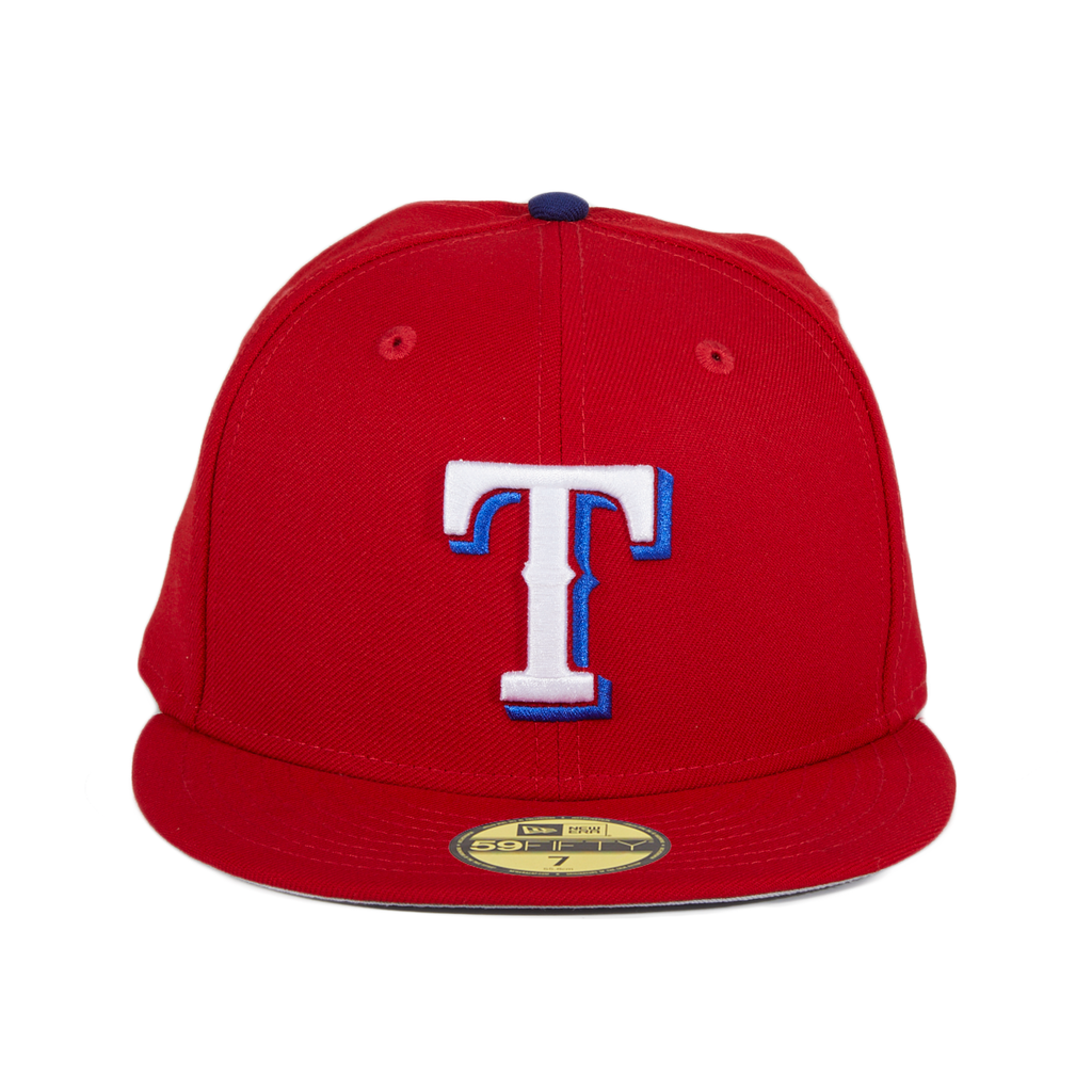 New Era 59Fifty Retro On-Field Texas Rangers Hat - Red