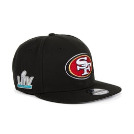 New Era 9Fifty San Francisco 49ers Super Bowl LIV Snapback Hat - Black
