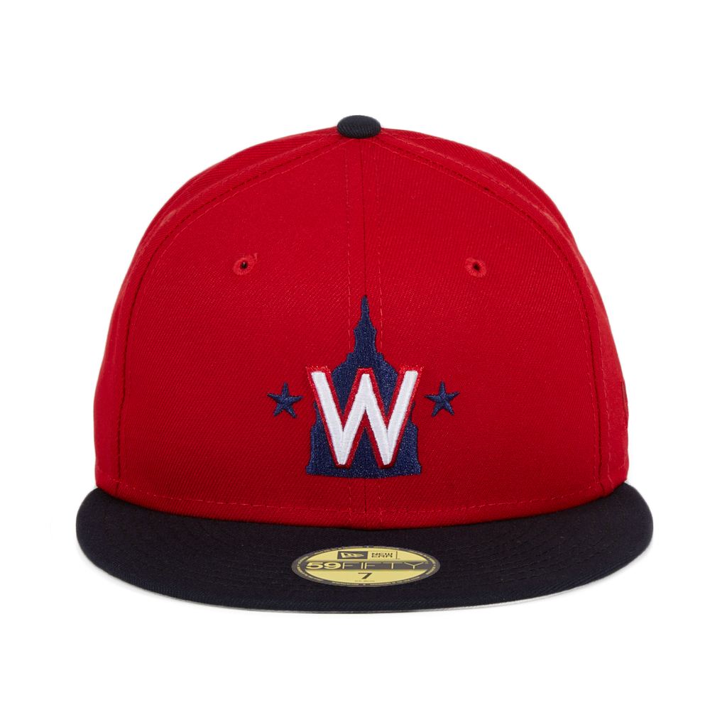 New Era 59Fifty Washington Nationals Alternate Hat - 2T Red, Navy