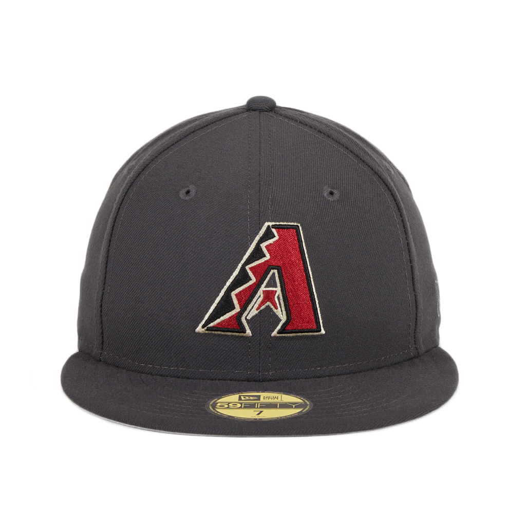 New Era 59Ffity Arizona Diamondbacks A OTC Hat - Graphite