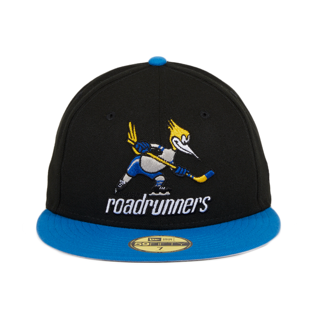 Exclusive New Era 59Fifty Phoenix Road Runners Hat - 2T Black, Light Blue