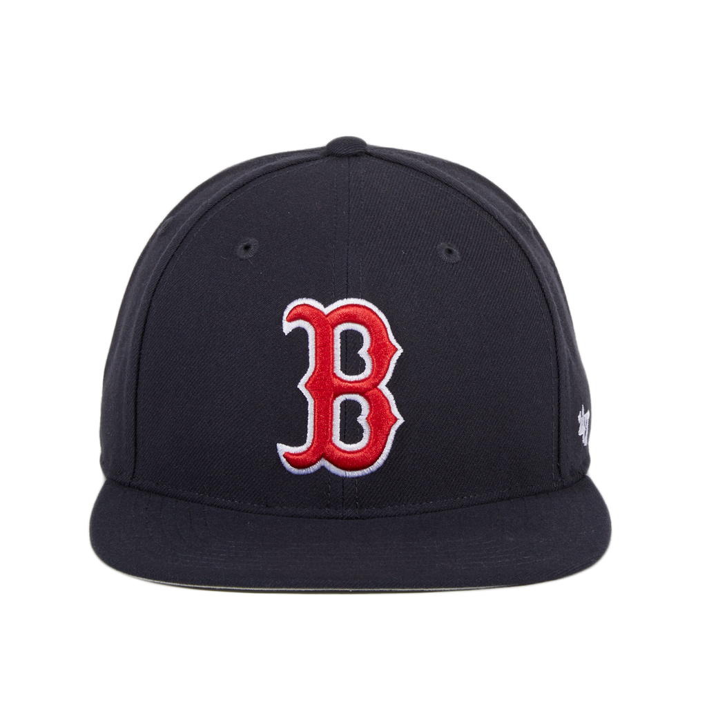 47 Brand No Shot Boston Red Sox Game Snapback Hat - Navy