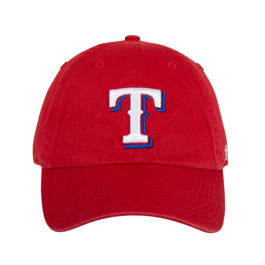 47 Brand Texas Rangers Alternative Cleanup Adjustable Hat - Red