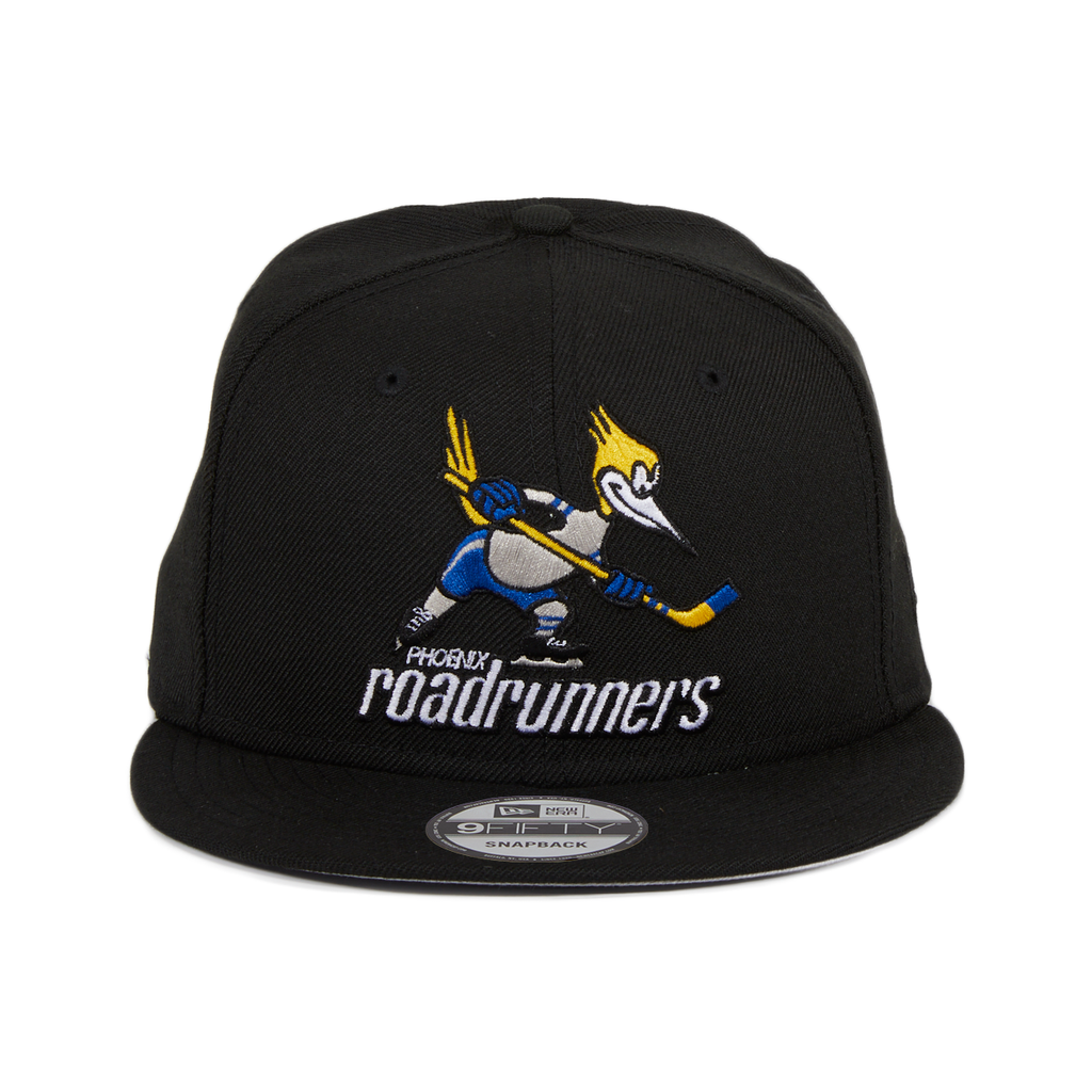 Exclusive 9Fifty Phoenix Road Runners Snapback Hat - Black