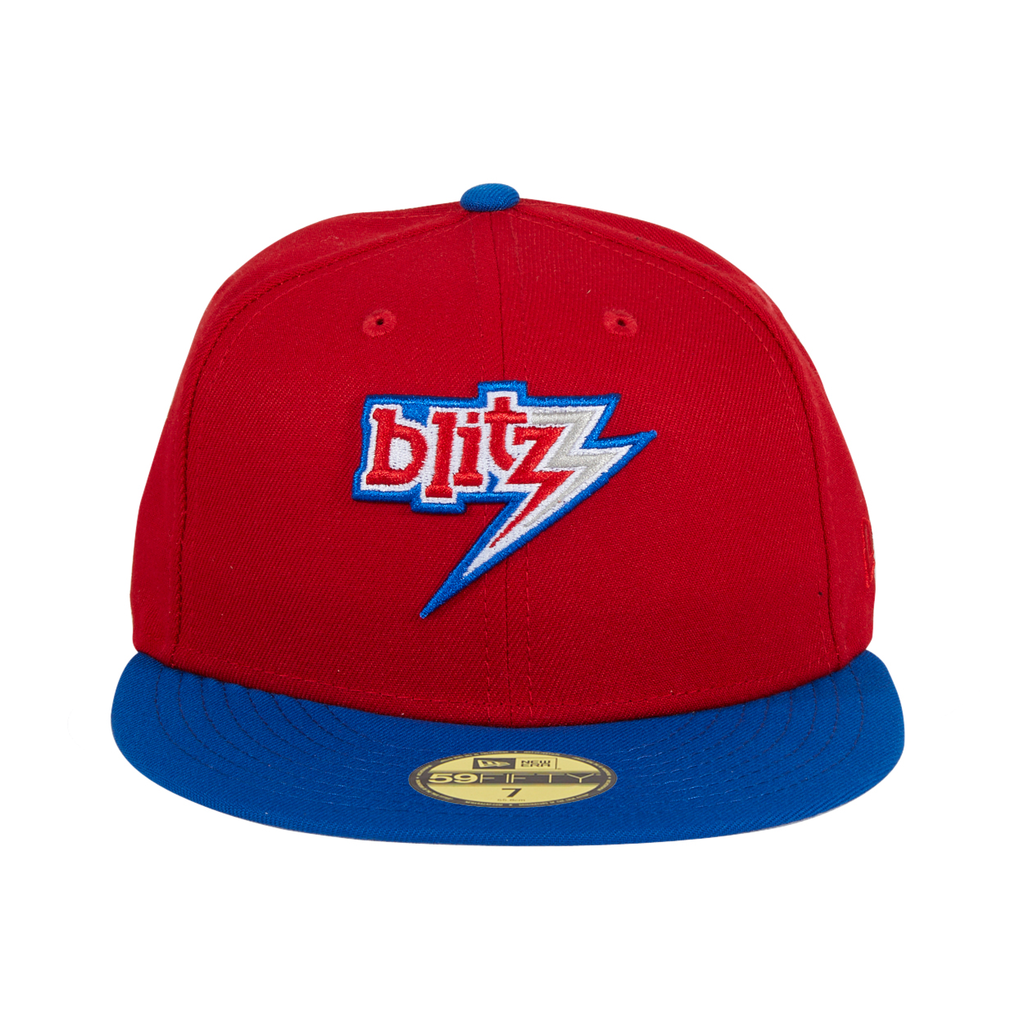 Exclusive New Era 59Fifty Chicago Blitz Hat - Red, Royal