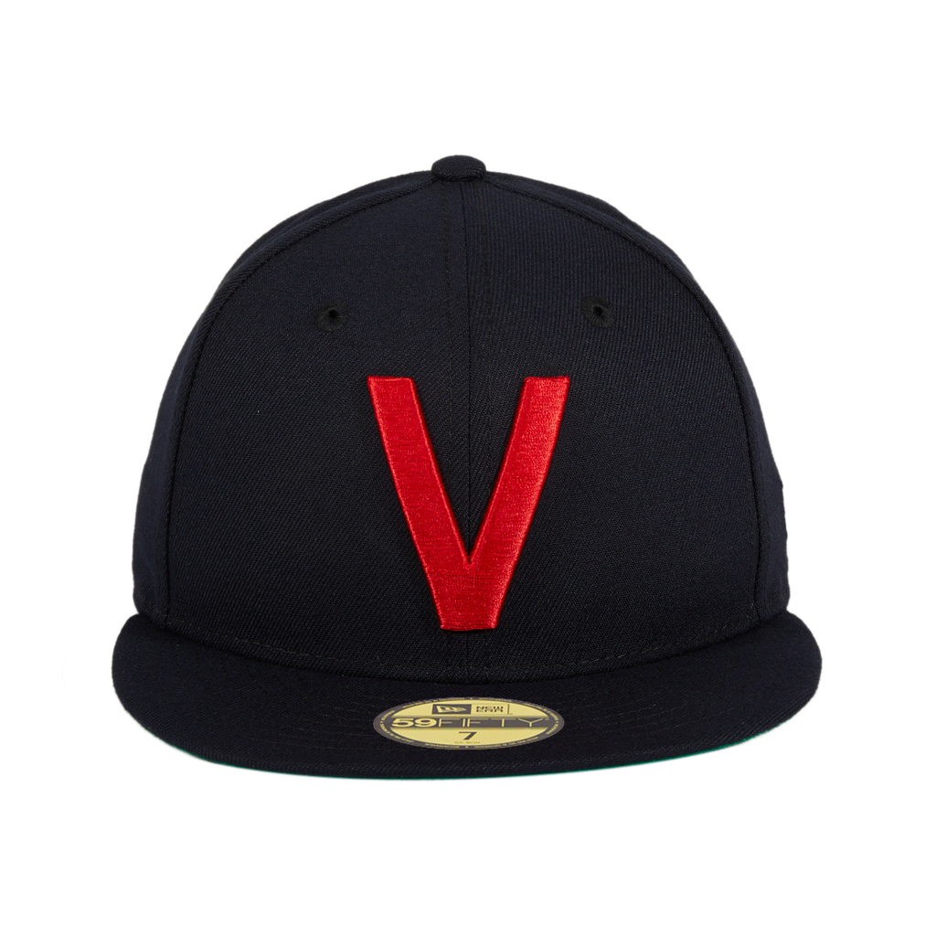 Exclusive New Era 59Fifty Vancouver Capilanos Hat - Navy, Red