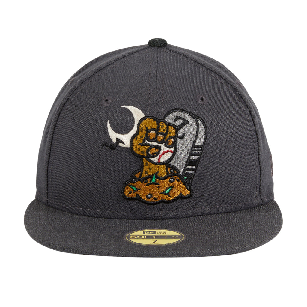 Exclusive New Era 59Fifty Dionic Zombie Hat - Graphite