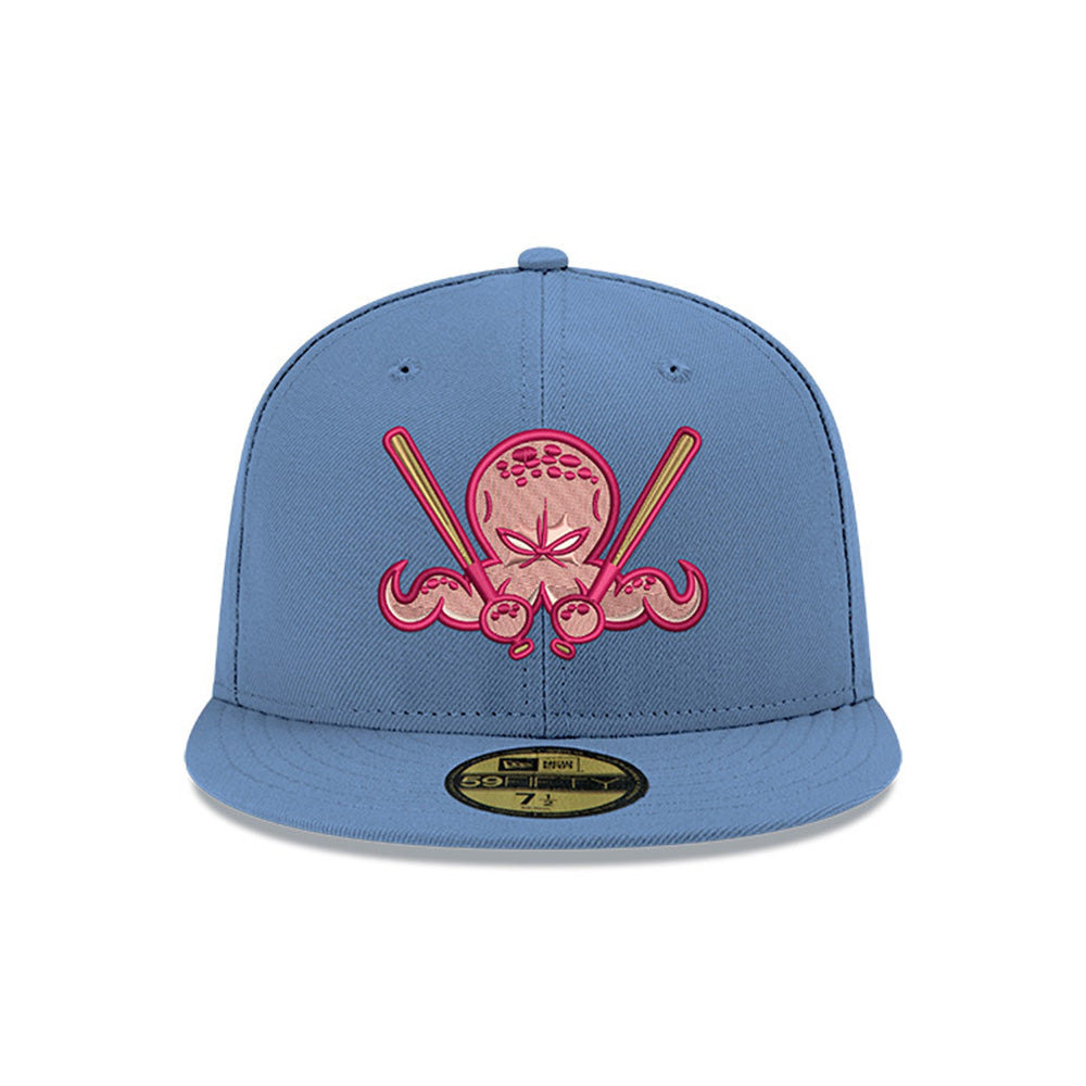 Pre-order Exclusive New Era 59Fifty Exclusive Dionic Octoslugger Pink UV Hat - Indigo