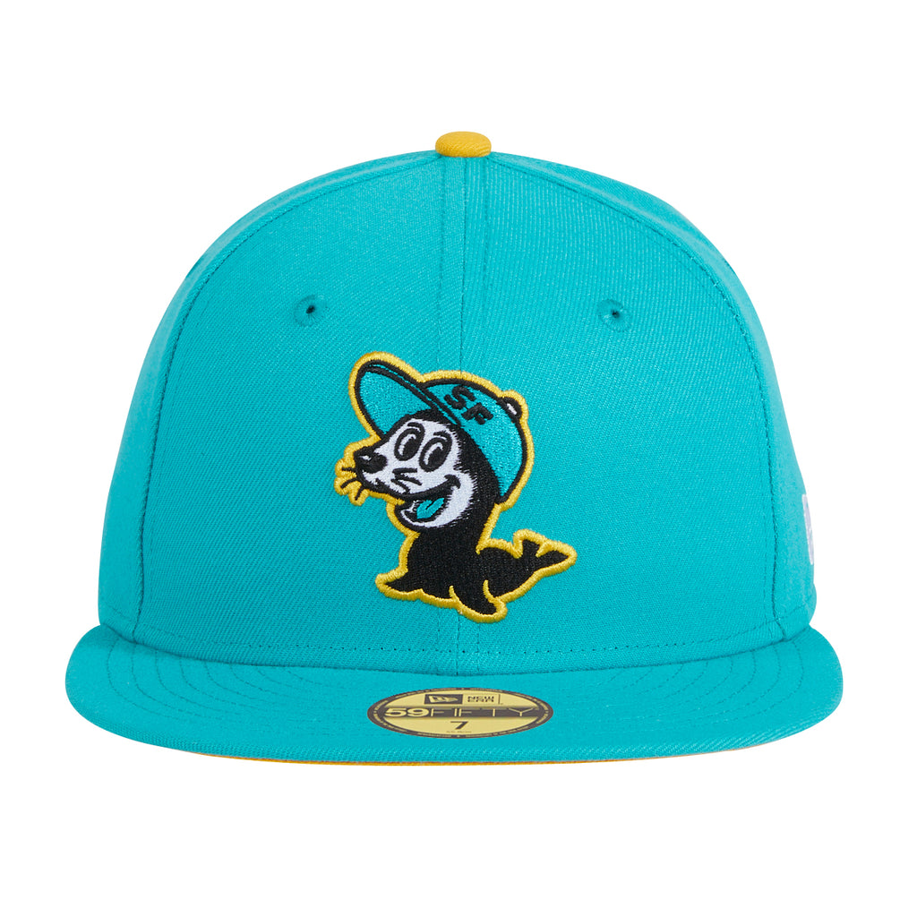 Exclusive New Era 59Fifty Chamuco Seals Hat - Teal