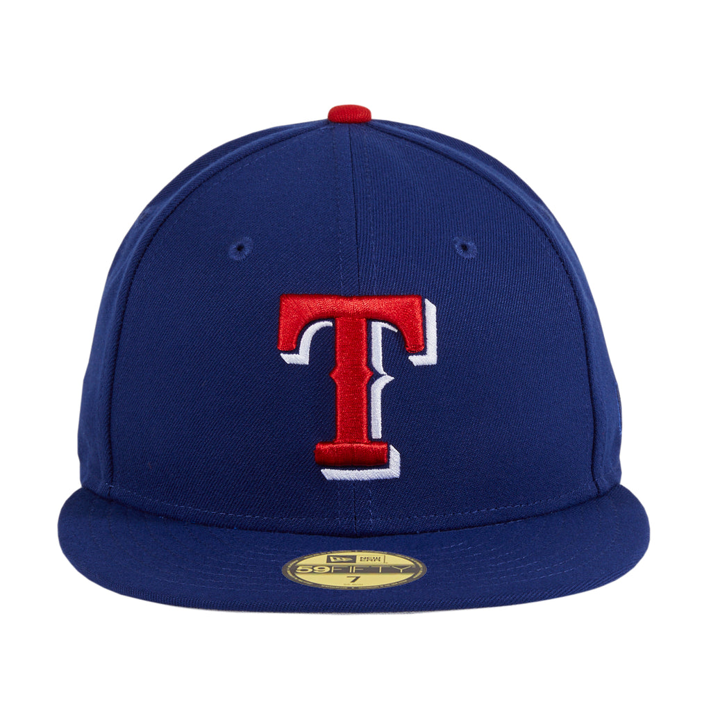 New Era 59Fifty Retro On-Field Texas Rangers Hat - Royal, Red, White
