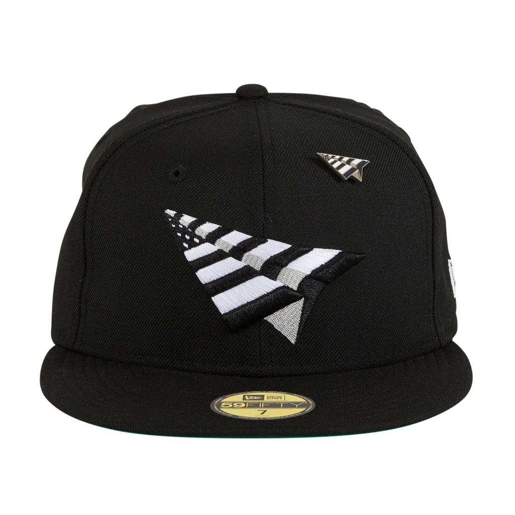 New Era 59Fifty Paper Planes Original Crown Hat - Black, White