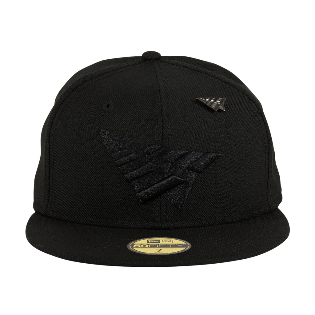 New Era 59Fifty Paper Planes Original Crown Hat - Black, Black