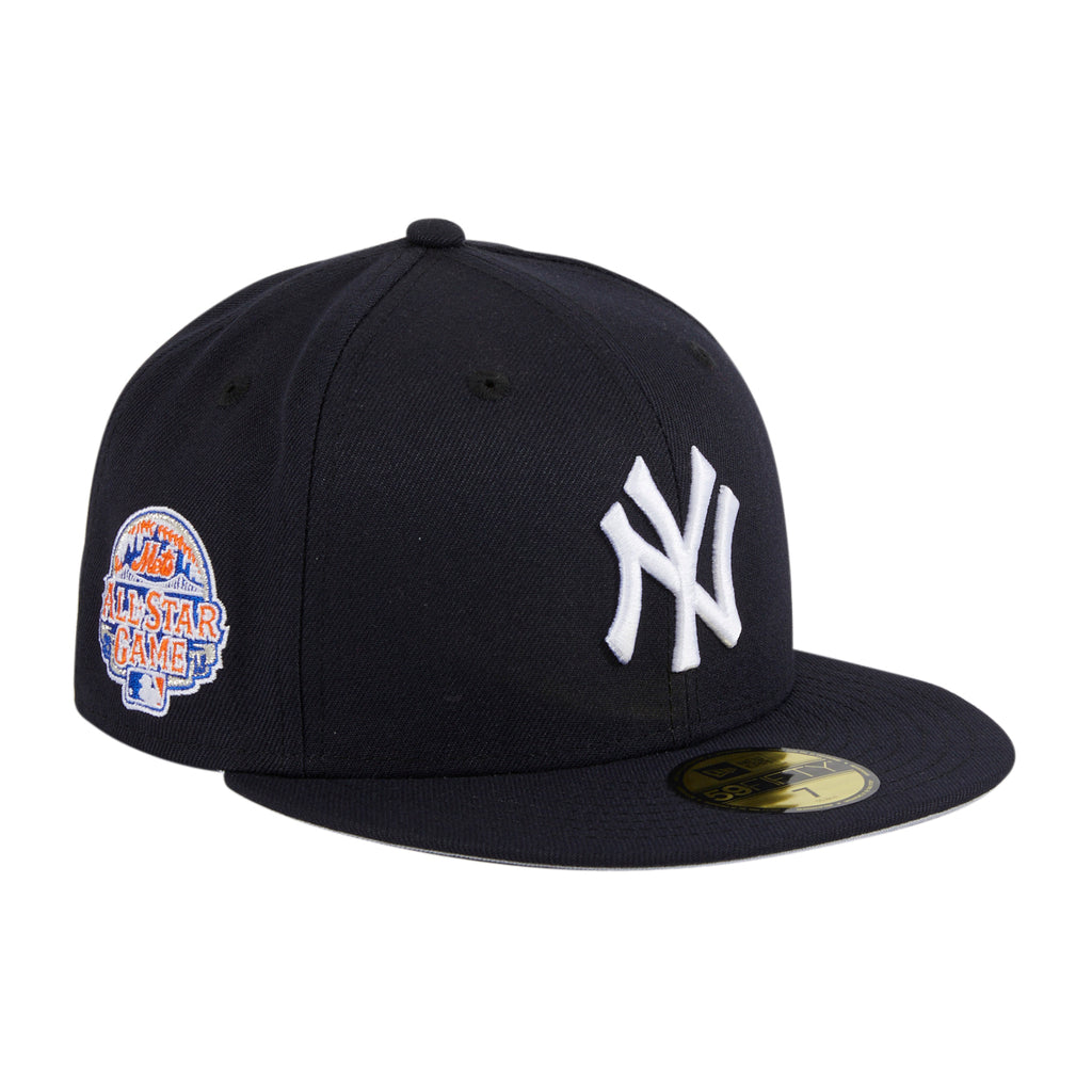 Exclusive New Era 59Fifty Crosstown New York Yankees 2013 All Star Game Patch Hat - Navy