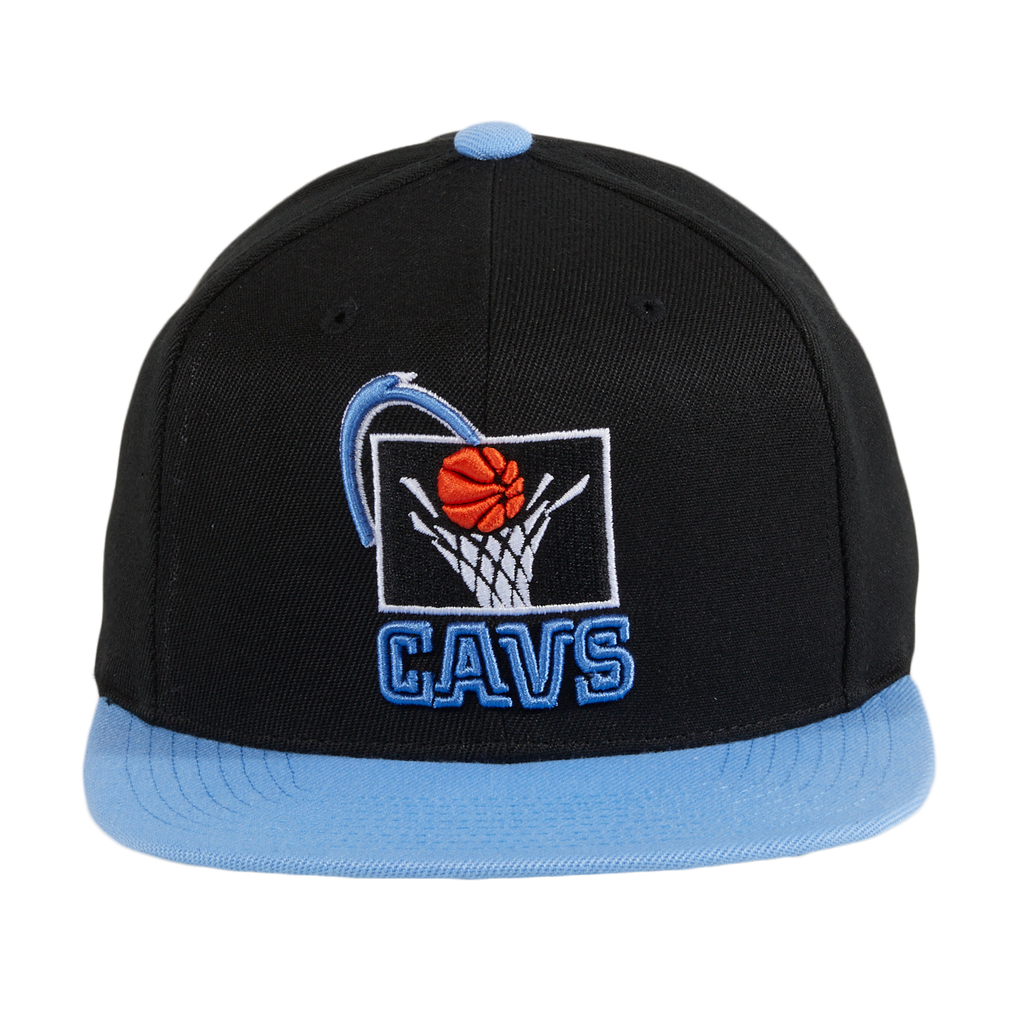 Mitchell & Ness Cleveland Cavaliers 1995 Snapback - 2T Black, Light Blue