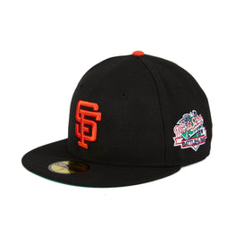 New Era 59Fifty San Francisco Giants 1989 World Series Game Hat - Black