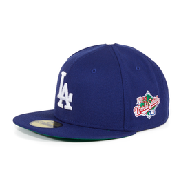 Exclusive New Era 59Fifty Los Angeles Dodgers 1988 World Series Patch Hat - Royal