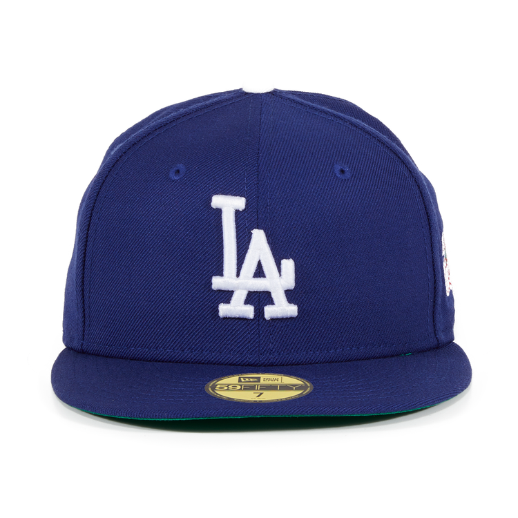Exclusive New Era 59Fifty Los Angeles Dodgers 1988 World Series Patch Hat -  Royal 4ac101ff23c