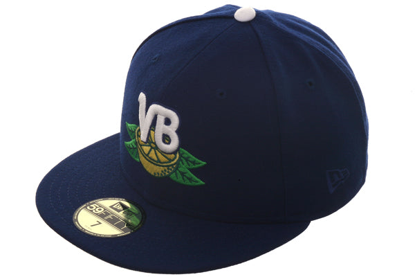 Vero Beach Dodgers Exclusive New Era 59Fifty Hat - Royal