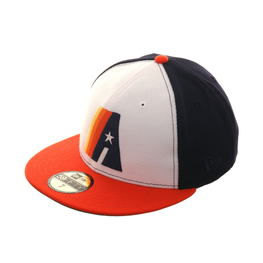 Exclusive New Era 59Fifty Houston Astros Concept Hat - 2T White, Orange, Navy