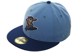 Exclusive New Era 59Fifty Daytona Cubs Hat - 2T Light Blue, Royal