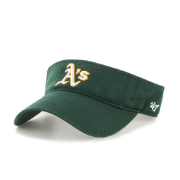 OAKLAND ATHLETICS DARK GREEN 47 CLEAN UP VISOR