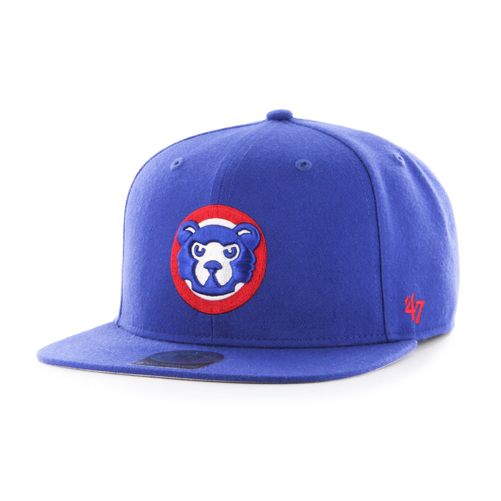 47 Brand Chicago Cubs Cooperstown Sureshot Captain Snapback Hat - Royal