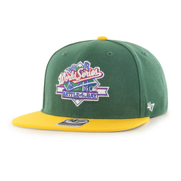 OAKLAND ATHLETICS BCPTN WORLD DARK GREEN BACK ARCH TT 47 CAPTAIN 47 CAPTAIN WOOL