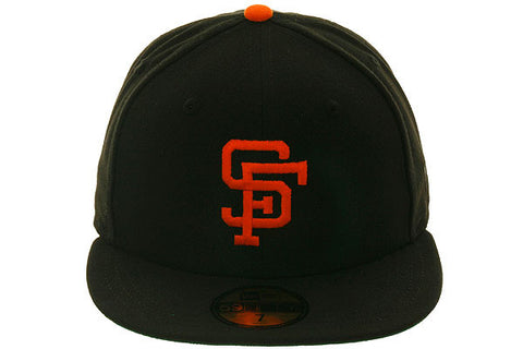 New Era 59Fifty San Francisco Giants 1972 Fitted Hat - Black, Orange