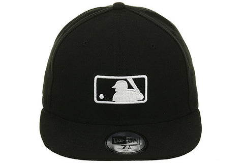 New Era Major League Baseball Umpire Fitted On-Field Hat - Black, White