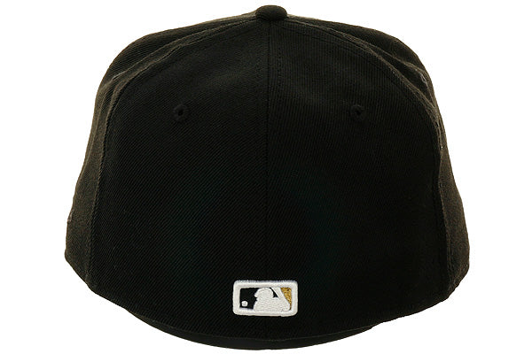 Exclusive New Era 59Fifty Toronto Blue Jays Hat - Black, Metallic Gold