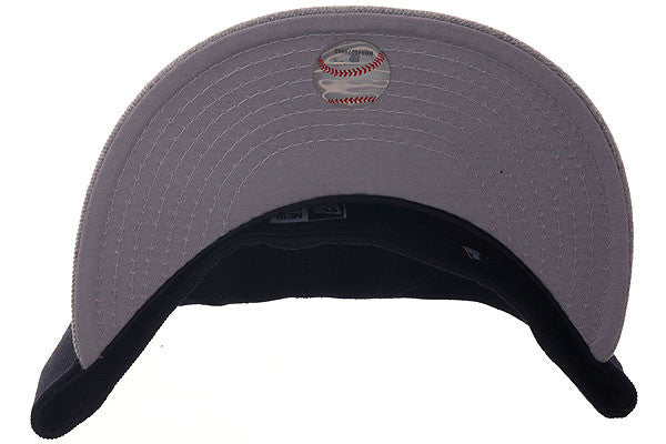 Exclusive New Era 59Fifty San Francisco Giants Hat - 2T Navy, Heather Gray
