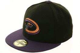 Exclusive New Era Arizona Diamondbacks Hat - 2T Black, Purple