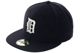 Exclusive New Era 59Fifty Detroit Tigers 1930 Hat - Navy