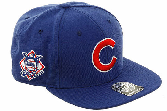 47 Brand Chicago Cubs Game Sureshot Snapback Hat - Royal